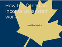 Canadian tax system screen shot