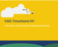 V365 timesheets screen shot